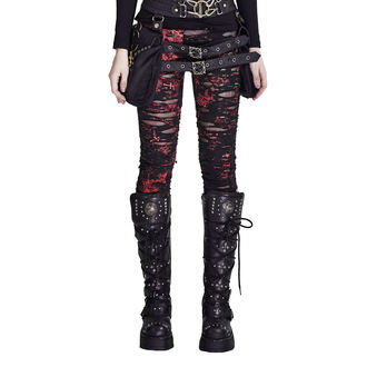 Pantalon (leggings) PUNK RAVE - Ripped, PUNK RAVE