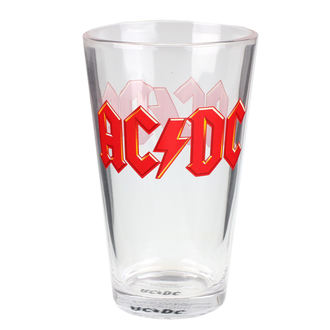Verre AC / DC - Logo, AC-DC
