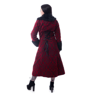 Manteau pour femmes POIZEN INDUSTRIES - KASTE - ROUGE, POIZEN INDUSTRIES