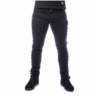Pantalon pour hommes POIZEN INDUSTRIES - KENDRIC - NOIR, POIZEN INDUSTRIES