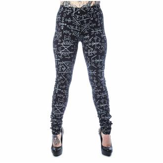 Pantalon pour femmes (leggings) HEARTLESS - KEPLER - NOIR, HEARTLESS