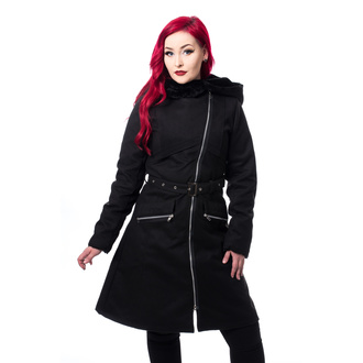 Manteau pour femmes CHEMICAL BLACK - KIARA - NOIR, CHEMICAL BLACK