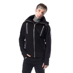 veste printemps / automne pour hommes - KIERAN - CHEMICAL BLACK, CHEMICAL BLACK