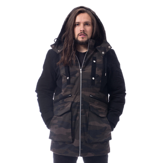 veste d`hiver - KNOCKOUT PARKA - POIZEN INDUSTRIES, POIZEN INDUSTRIES