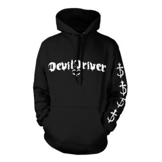 sweat-shirt avec capuche pour hommes Devildriver - Logo Careless Black - NNM, NNM, Devildriver