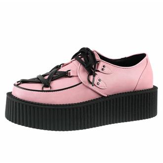 Chaussures pour femmes KILLSTAR - Creepers Hexellents - Pastel Pink, KILLSTAR