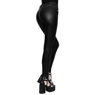 Pantalon pour femmes KILLSTAR - Larissa Coated, KILLSTAR