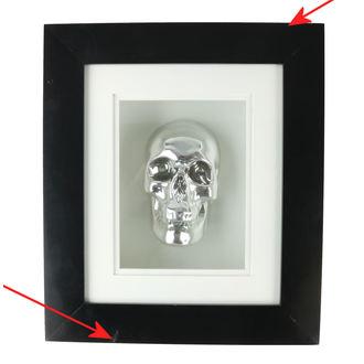 Cadre crâne  - B0330B4 - ENDOMMAGÉ