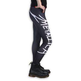 Leggings femme - Metallica - Logo - Noir / blanc, PAMELA MANN