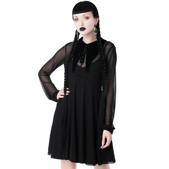 Robe pour femmes à manches longues KILLSTAR - Lily Of The Alley Collar, KILLSTAR