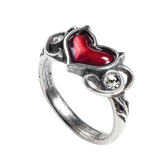 Bague ALCHEMY GOTHIC - Little Devil Heart, ALCHEMY GOTHIC