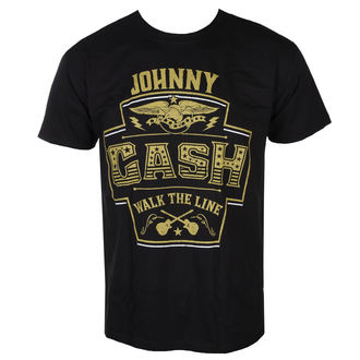 tee-shirt métal pour hommes Johnny Cash - LABEL - LIVE NATION, LIVE NATION, Johnny Cash