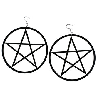 Boucles d'oreilles Luciferothica - Huge Pentagram, LUCIFEROTHICA