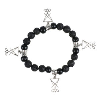 Bracelet Luciferothica - black & silver, LUCIFEROTHICA