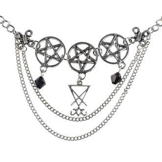 Collier Luciferothica - Luciferian Choker, LUCIFEROTHICA