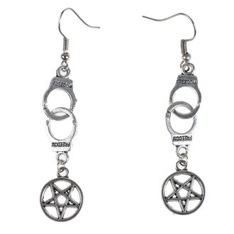 Boucles d'oreilles Luciferothica - Freedom, LUCIFEROTHICA