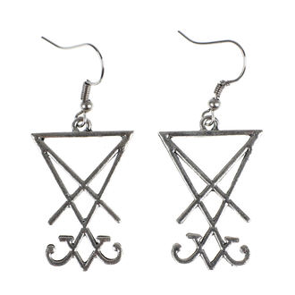 Boucles d'oreilles Luciferothica - Sigil of Lucifer, LUCIFEROTHICA