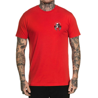 T-shirt SULLEN pour hommes - OLD GLORY - ROUGE, SULLEN