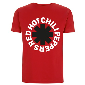 t-shirt pour homme Red Hot Chili Peppers - Classic N&B Asterisk - rouge, NNM, Red Hot Chili Peppers