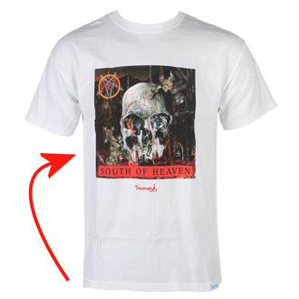 T-shirt pour homme SLAYER - DIAMOND - Sud De Paradis - blanc - ENDOMMAGÉ, DIAMOND, Slayer