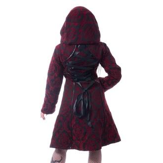 Manteau pour femmes Poizen Industries - MANSION - ROUGE, POIZEN INDUSTRIES