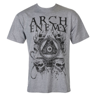 T-shirt pour hommes Arch Enemy - Pyramid - gris, ART WORX, Arch Enemy