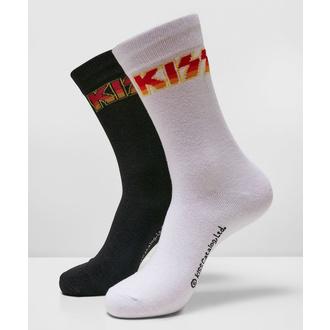 Chaussettes (ensemble de 2 paires) Kiss - 2-Pack - noir / blanc, NNM, Kiss