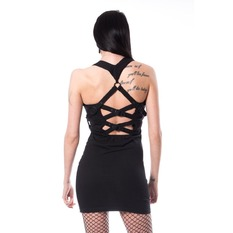 Robe femmes Heartless - MEERI - NOIR, HEARTLESS