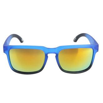 Lunettes  de soleil MEATFLY - MEMPHIS - E - 4/17/55 - Bleu Mat, MEATFLY