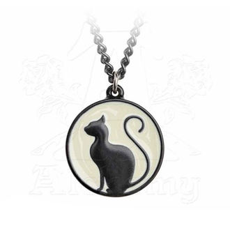 Collier ALCHEMY GOTHIC - Meow At The Moon, ALCHEMY GOTHIC