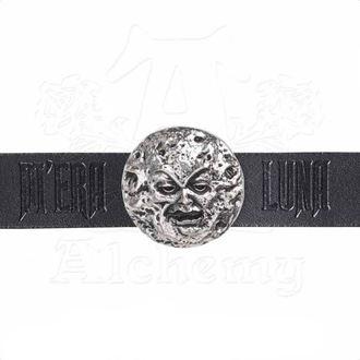 Bracelet ALCHEMY GOTHIC - M'era Luna Moon Wriststrap, ALCHEMY GOTHIC