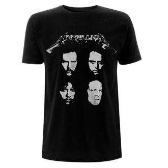 t-shirt pour homme Metallica - 4 Faces - Noir, NNM, Metallica
