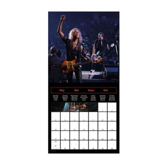 Calendrier 2021 - METALLICA, NNM, Metallica