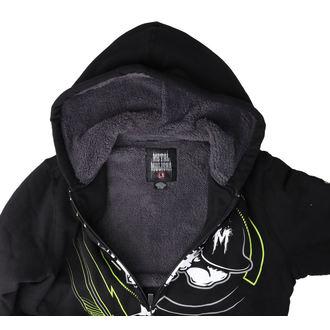 sweat-shirt avec capuche pour hommes - FELON SHERPA - METAL MULISHA, METAL MULISHA