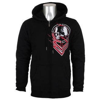 sweat-shirt avec capuche pour hommes - SMIRCH SHERPA - METAL MULISHA, METAL MULISHA