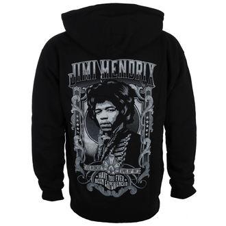 sweat-shirt avec capuche pour hommes Jimi Hendrix - HENDRIX AUTHENTC - BRAVADO, BRAVADO, Jimi Hendrix