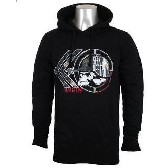 sweat-shirt avec capuche pour hommes - NIGHT WATCH - METAL MULISHA, METAL MULISHA