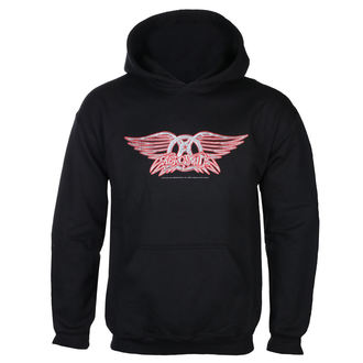 sweat-shirt avec capuche pour hommes Aerosmith - Logo - LOW FREQUENCY, LOW FREQUENCY, Aerosmith