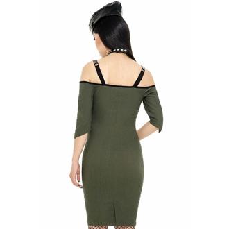 Robe pour femmes par KILLSTAR - Miss Stardust - KAKI, KILLSTAR