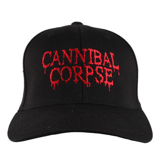 Casquette CANNIBAL CORPSE - RED - JSR, Just Say Rock, Cannibal Corpse