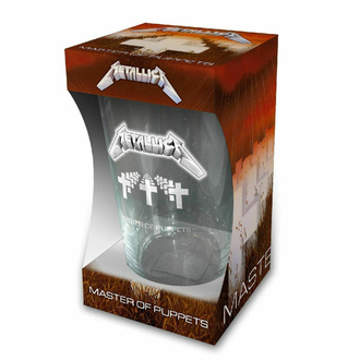 Verre METALLICA - MASTER OF PUPPETS - RAZAMATAZ, RAZAMATAZ, Metallica
