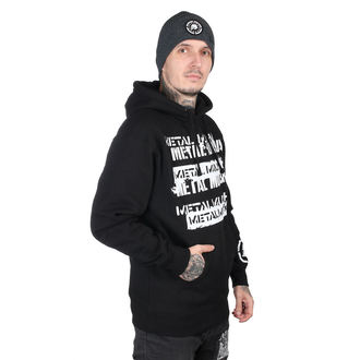 sweat-shirt avec capuche pour hommes - CRATE BLK - METAL MULISHA, METAL MULISHA