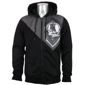 sweat-shirt avec capuche pour hommes - MEAN POLY PLATED - METAL MULISHA, METAL MULISHA