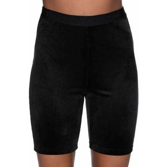 Shorts pour femmes KILLSTAR - Luna Cycliste - NOIR, KILLSTAR
