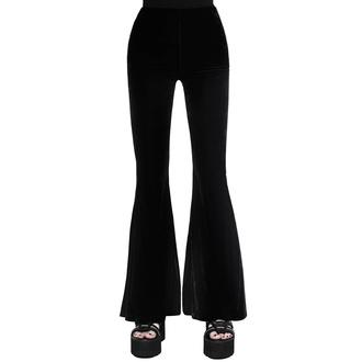 Pantalon pour femmes KILLSTAR - Moondance Bell - NOIR, KILLSTAR