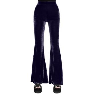 Pantalon pour femmes KILLSTAR - Moondance Bell - PRUNE, KILLSTAR