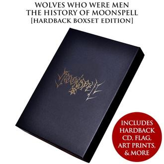 Livre (coffret cadeau) Moonspell - Wolves Who Were Men (Coffret de luxe relié signé), CULT NEVER DIE, Moonspell