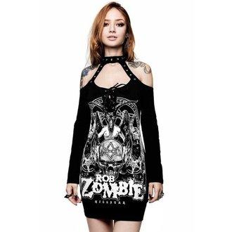 Robe pour femmes KILLSTAR - ROB ZOMBIE - Triumph - NOIR, KILLSTAR, Rob Zombie
