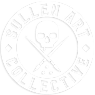 Autocollant (grand) SULLEN - BOH DIE CUT STICKER 6 IN - BLANC, SULLEN