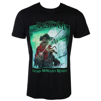 tee-shirt métal pour hommes Alestorm - Captain Morgan`s Revenge – 10th Anniversary Editio - NAPALM RECORDS, NAPALM RECORDS, Alestorm